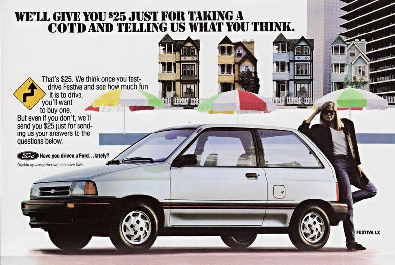 Old sad Ford ad via Alden Jewell