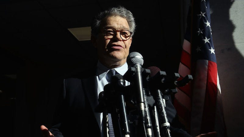 Al Franken 'Can't Say' If More Accusers Will Come Forward