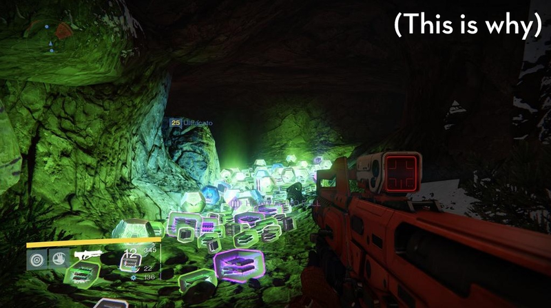 ​Why High-Level Destiny Players Are All Shooting At The Same Cave