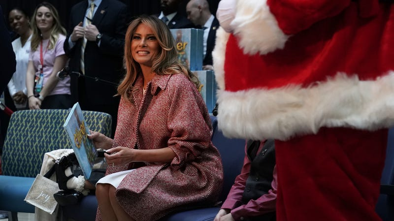 While Your Brain Was Atrophying During the Mueller Testimony, Melania Was Planning Her Christmas Decor