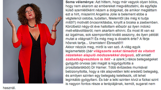 Illustration for article titled A Cink miatt belejavítottak Soma rákosok életét veszélyeztető nyilatkozatába