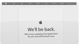 Illustration for article titled The Apple Store Is Down: Here Come Some Shiny New MacBook Pros?