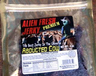 Illustration for article titled California Store Sells Beef Jerky Reclaimed from Cows Mutilated by Aliens