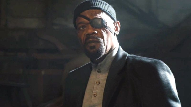 Illustration for article titled Samuel L. Jackson will be in Captain Marvel