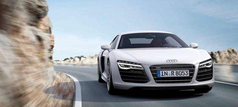 Illustration for article titled Say Goodbye To The Manual In The Next Audi R8