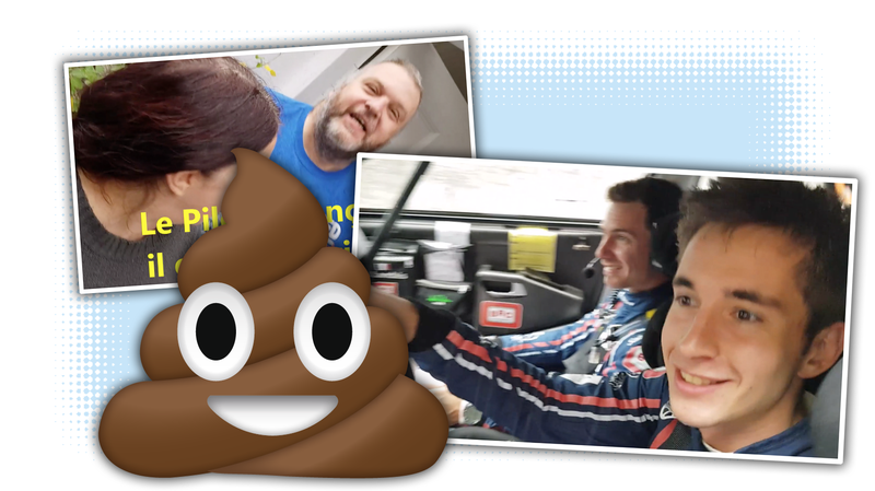 Illustration for article titled Rally Driver Stops Mid-Race At Someone's House to Have a Poo