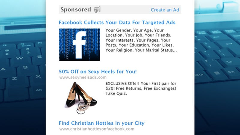 Illustration for article titled How Facebook Uses Your Data to Target Ads, Even Offline