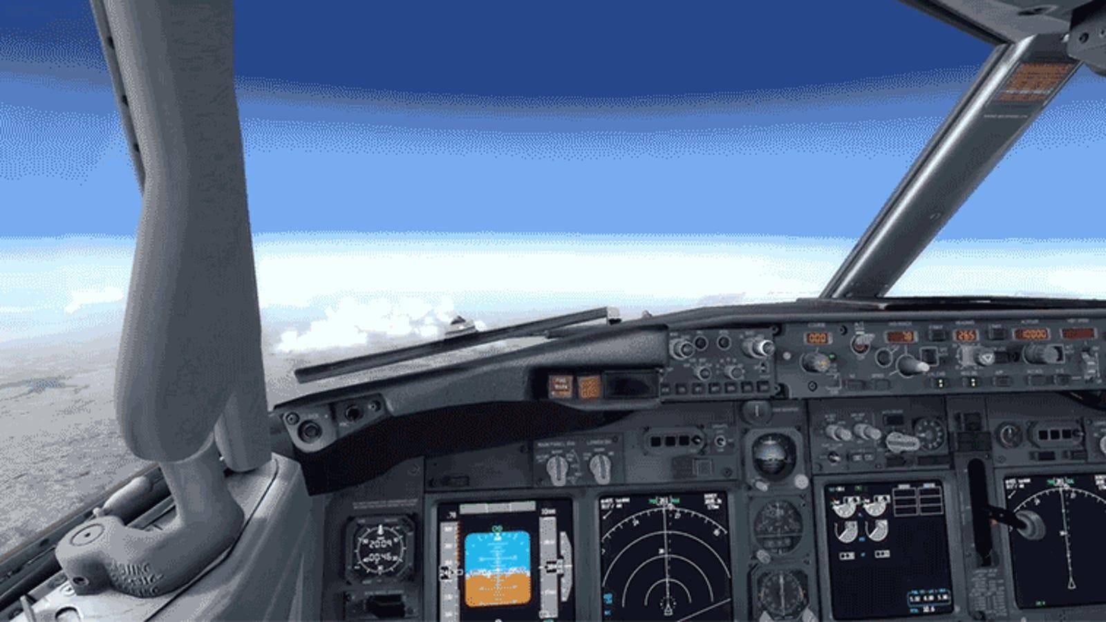Aprende a aterrizar un Boeing 737 en caso de emergencia con este tutorial de diez minutos