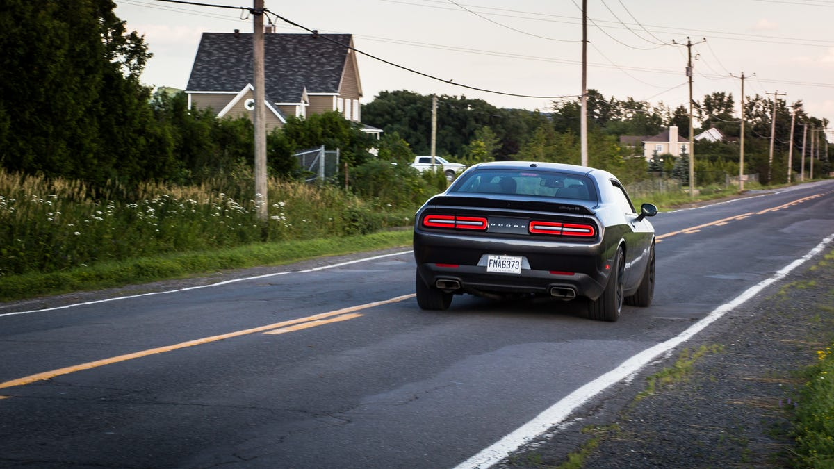 The 2017 Dodge Challenger T A 392 Is Middle Finger To Future Of Cars