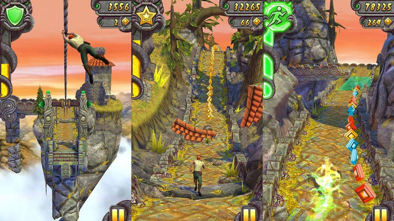 Illustration for article titled Three Developer Tips for Temple Run 2 Success