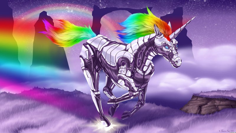 Illustration for article titled Evening Open Thread- UNICORNS