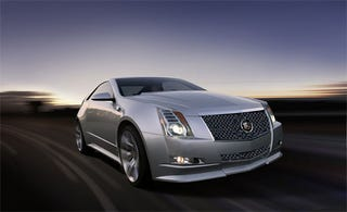 Illustration for article titled 2011 Cadillac CTS-V Coupe Is Go, Coming In May