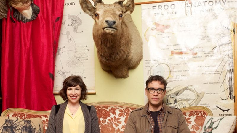 Illustration for article titled Fred Armisen and Carrie Brownstein