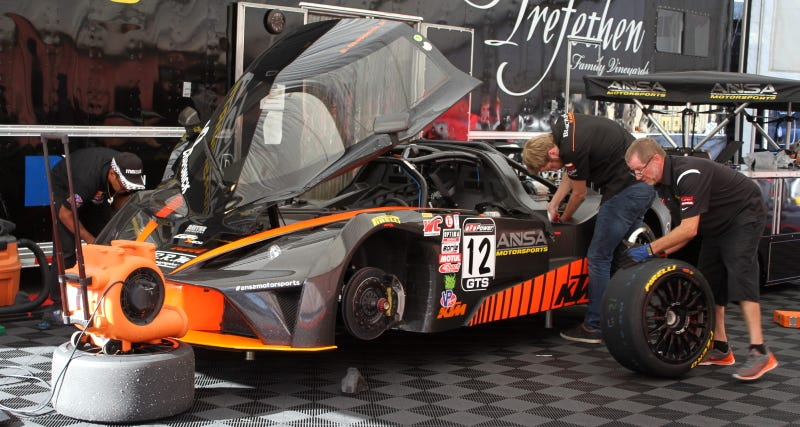 Illustration for article titled Pirelli World Challenge Has A Ton Of Marvelous Weird Cars This Year