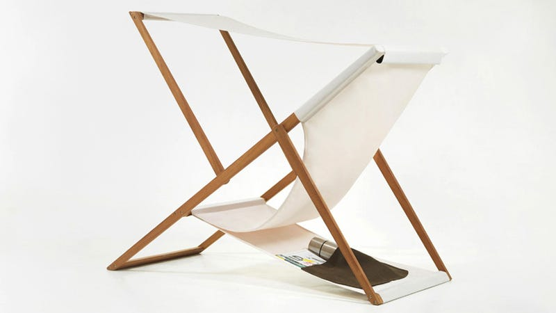 Sometimes Change Is A Good Thing, As Is Demonstrated By The Simple Updates  Numen Made To The Classic Folding Deck Chair Found On Swanky Cruise Ships  Around ...