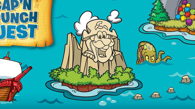 Illustration for article titled 5 Celebrities Who Got Their Start As Cap'n Crunch's Live-In Concubine On Crunch Island