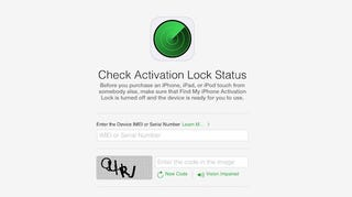 Illustration for article titled Apple's New iCloud Tool Checks If a Device Is Stolen