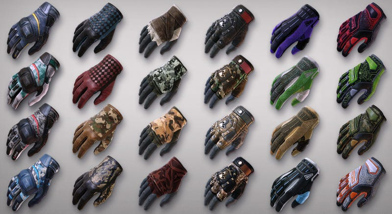 Illustration for article titled Counter-Strike Adds Buyable Glove Skins