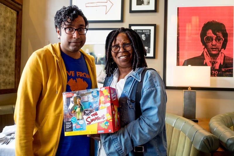 Hari Kondabolu and Whoopi Goldberg have a Problem With Apu merchandising (Photo: truTV)