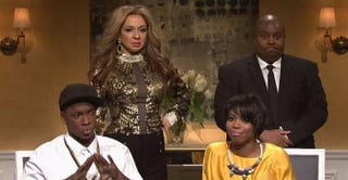 Saturday Night Live spoofs the Jay Z-Solange elevator fightNBC Universal