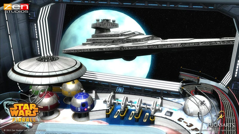 Illustration for article titled Star Wars Pinball Launches Next Week on Five Different Platforms