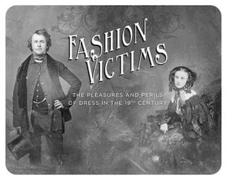 Illustration for article titled This Victorian-era clothing exhibit is to die for. Literally.