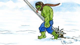 Illustration for article titled What if the Incredible Hulk starred in  A Christmas Story?