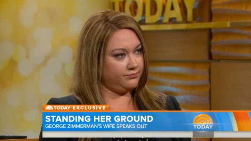 Illustration for article titled George Zimmerman's Wife Now Has Doubts About His Innocence