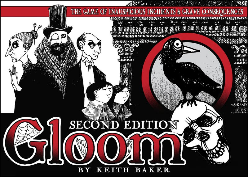 Illustration for article titled TAY Board Game Night: Gloom