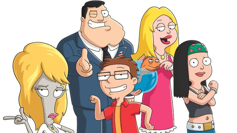 Illustration for article titled Comedy Showrunners Week: American Dad's co-creators on the show's weird evolution