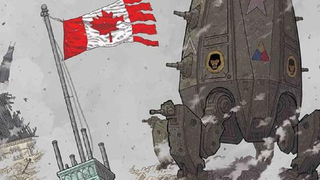 Illustration for article titled In This Week's Comics, Canada Defends Itself From an American Invasion