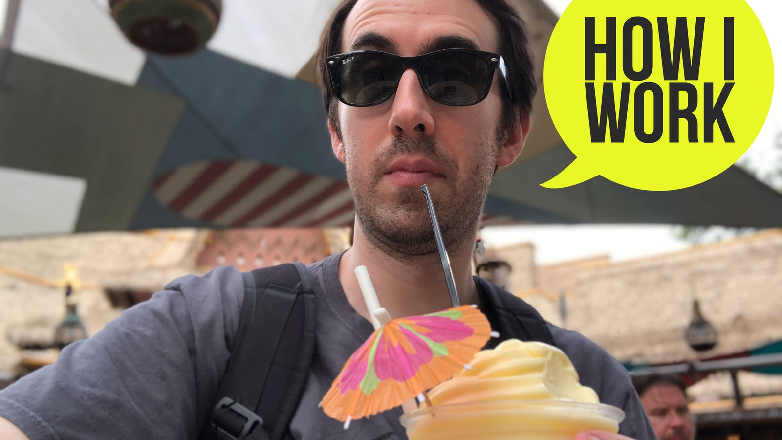 I'm David Murphy, Lifehacker Technology Editor, and This Is How I Work