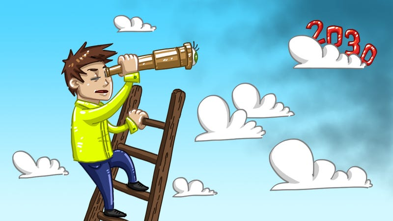 Illustration for article titled Why Thinking Too Long-Term Can Sabotage Your Success