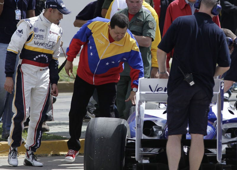 Illustration for article titled Hugo Chavez Now Has An F1 Team