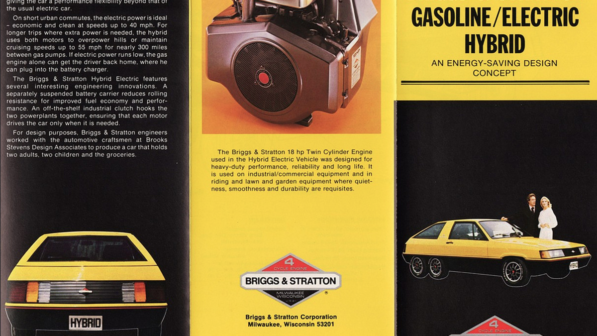 The Company That Made Your Lawnmower Engine Also Made This Crazy Six