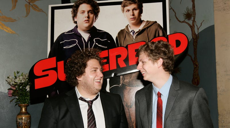Illustration for article titled It's 3 p.m., so let's look into an alternate universe where Jason Segel starred in Superbad