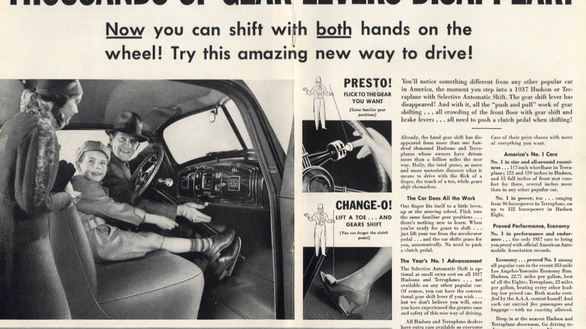 One Of The First Automatic Transmissions Had A Creepy Name