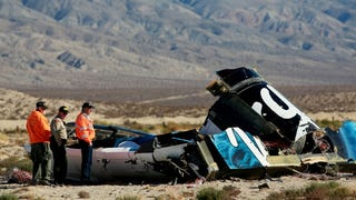 Illustration for article titled A farka okozhatta a SpaceShipTwo vesztét