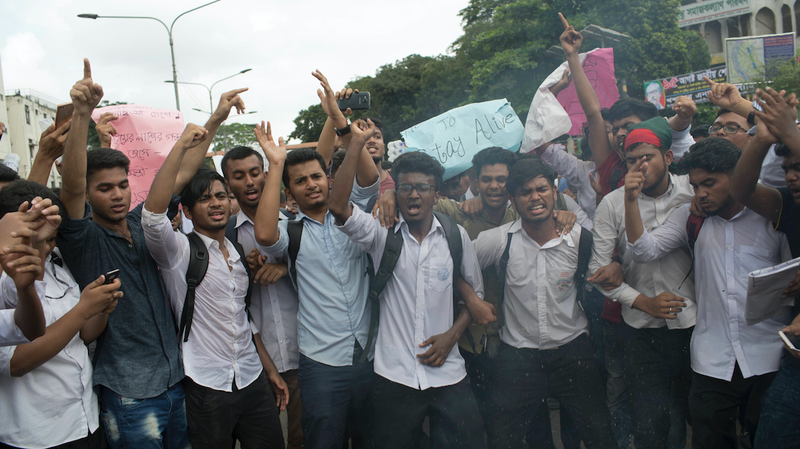 Illustration for article titled Bangladesh Blocks Mobile Internet Amid Police Crackdown on Student Protests