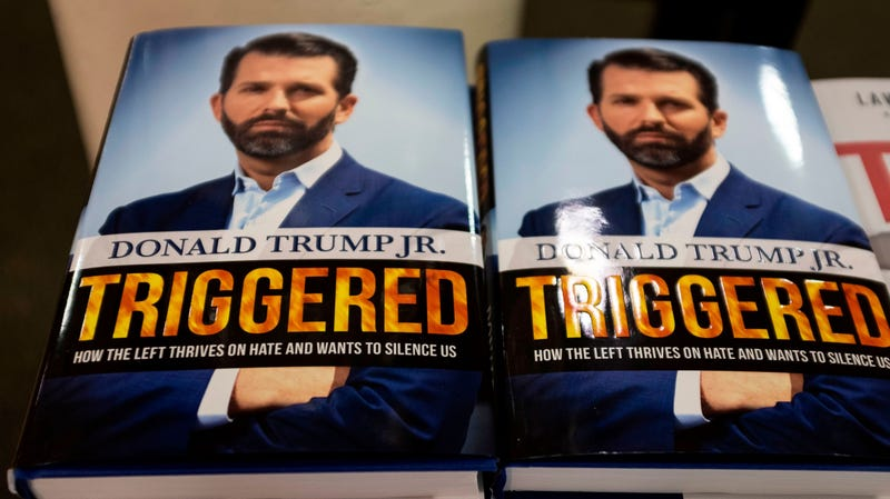 Illustration for article titled Of Course Sales of Don Jr.'s Triggered Were Juiced