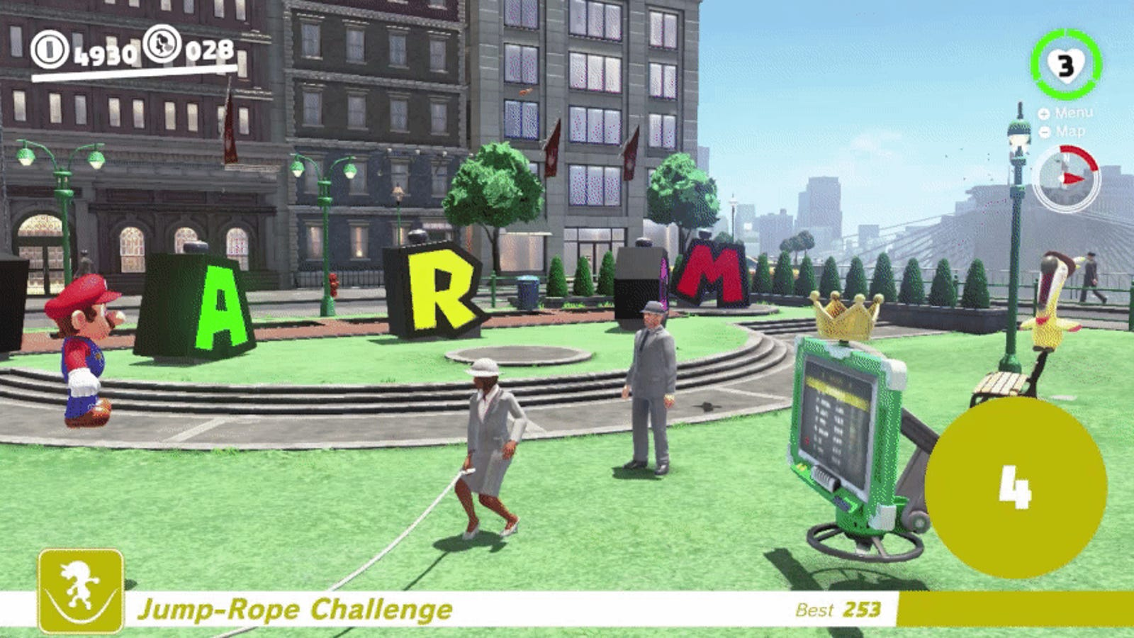 Super Mario Odyssey Players Use Glitch To Break Jump-Rope