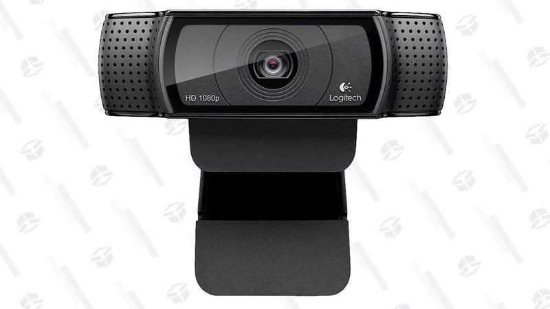 Logitech C920 HD Webcam | $45 | Amazon