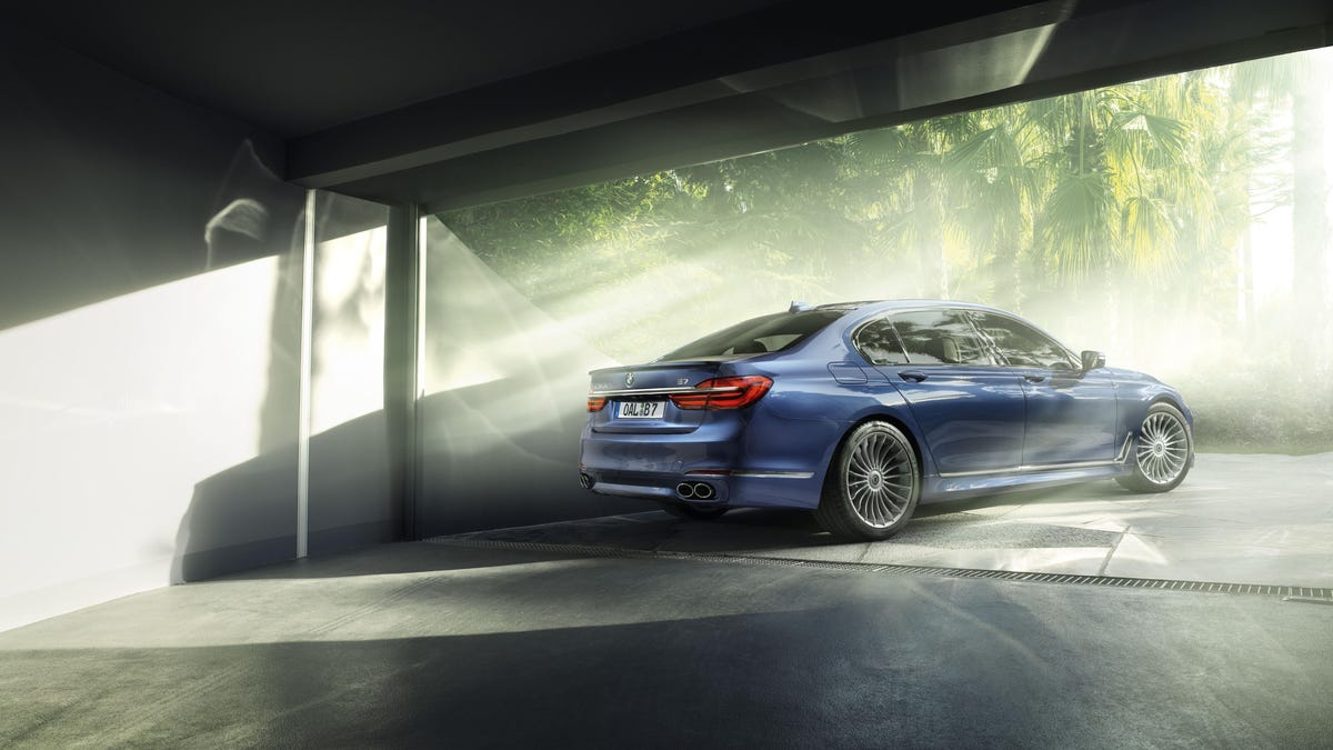 The Alpina B Is Your Horsepower M BMW Doesnt Have To - Bmw b7 alpina horsepower