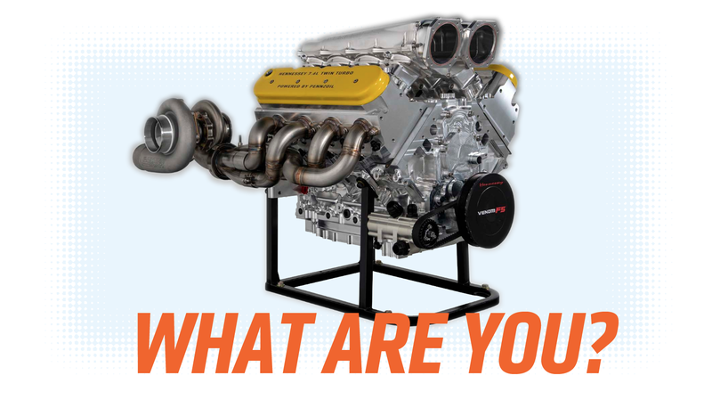 Illustration for article titled Hennessey's 1600 Horsepower Twin-Turbo V8 May Not Be as Unique as They Say