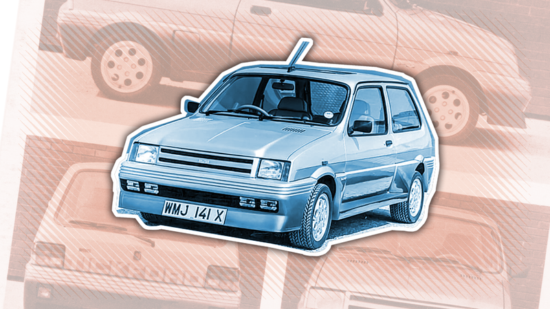 Illustration for article titled This Flyer For An Odd Little Car Uses One Of The Most Unsettling Performance Analogies Ever