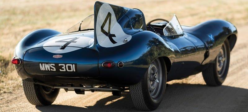 1955 Jaguar D Type Roadster (RM Sothebyu0027s) Sold For $21,780,000