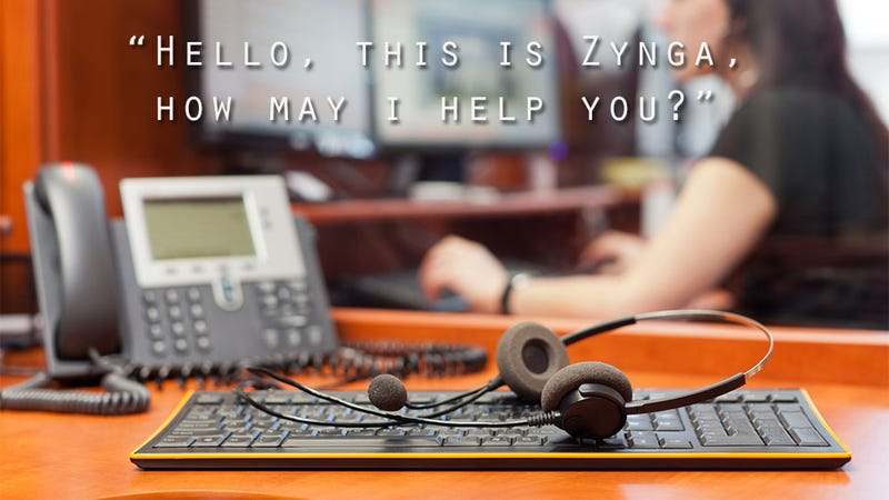 Zynga Mistake Puts Random Stranger In Customer Support Role