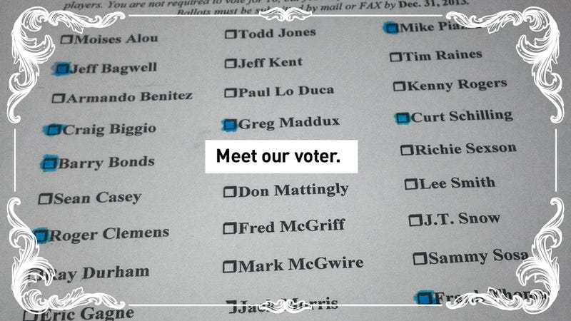 Illustration for article titled Revealed: The Hall Of Fame Voter Who Turned His Ballot Over To Deadspin