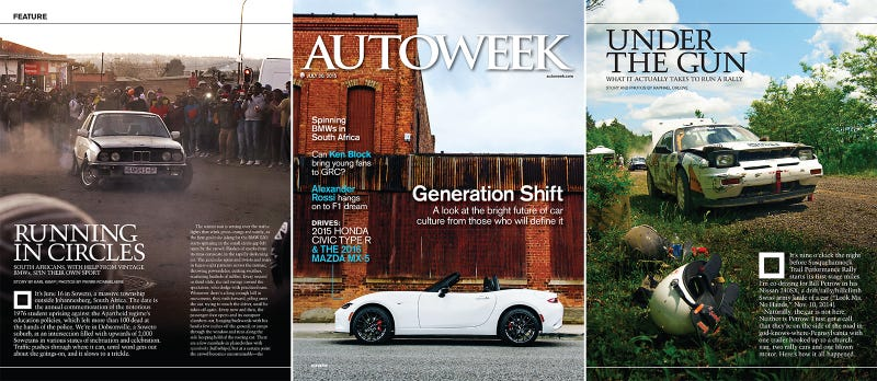 Illustration for article titled Autoweek's New 30-And-Under Issue is Everything Right With Car Culture