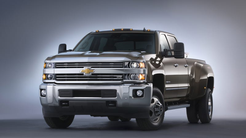 Illustration for article titled 2015 Silverado HD, Sierra HD Pickups Revealed In Texas